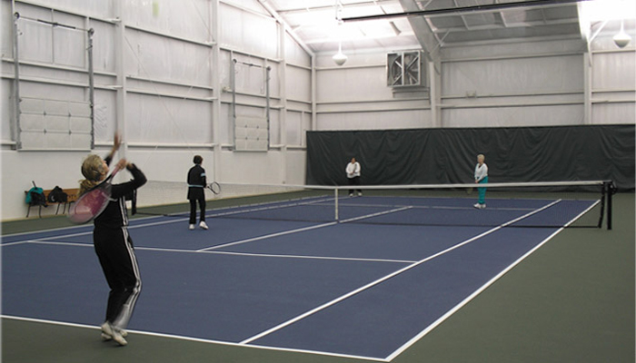 CCA Indoor Tennis Courts