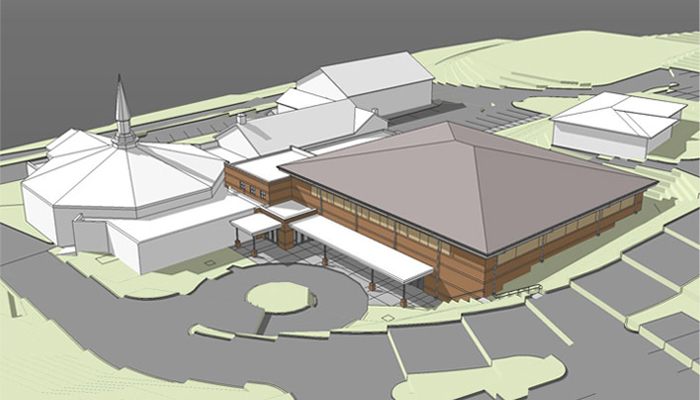Architectural Design Studio Asheville. Newfound Baptist Family Life Center Architectural Design Studio